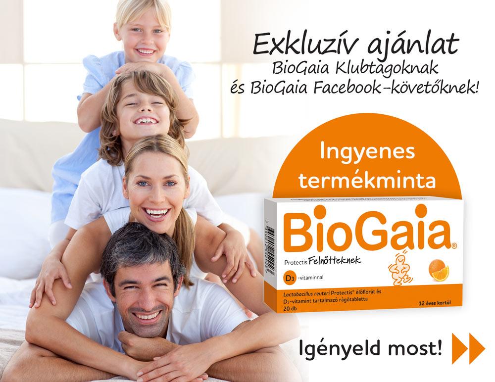 Exkluzív ajánlat BioGaia Klubtagoknak!
