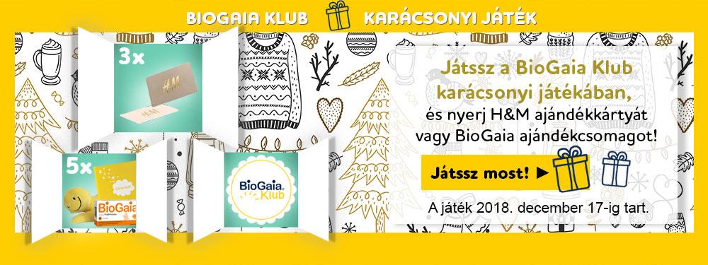 BioGaia Klub - Karácsonyi játék